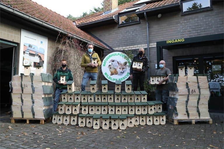 Duurzaam geproduceerde nestkasten