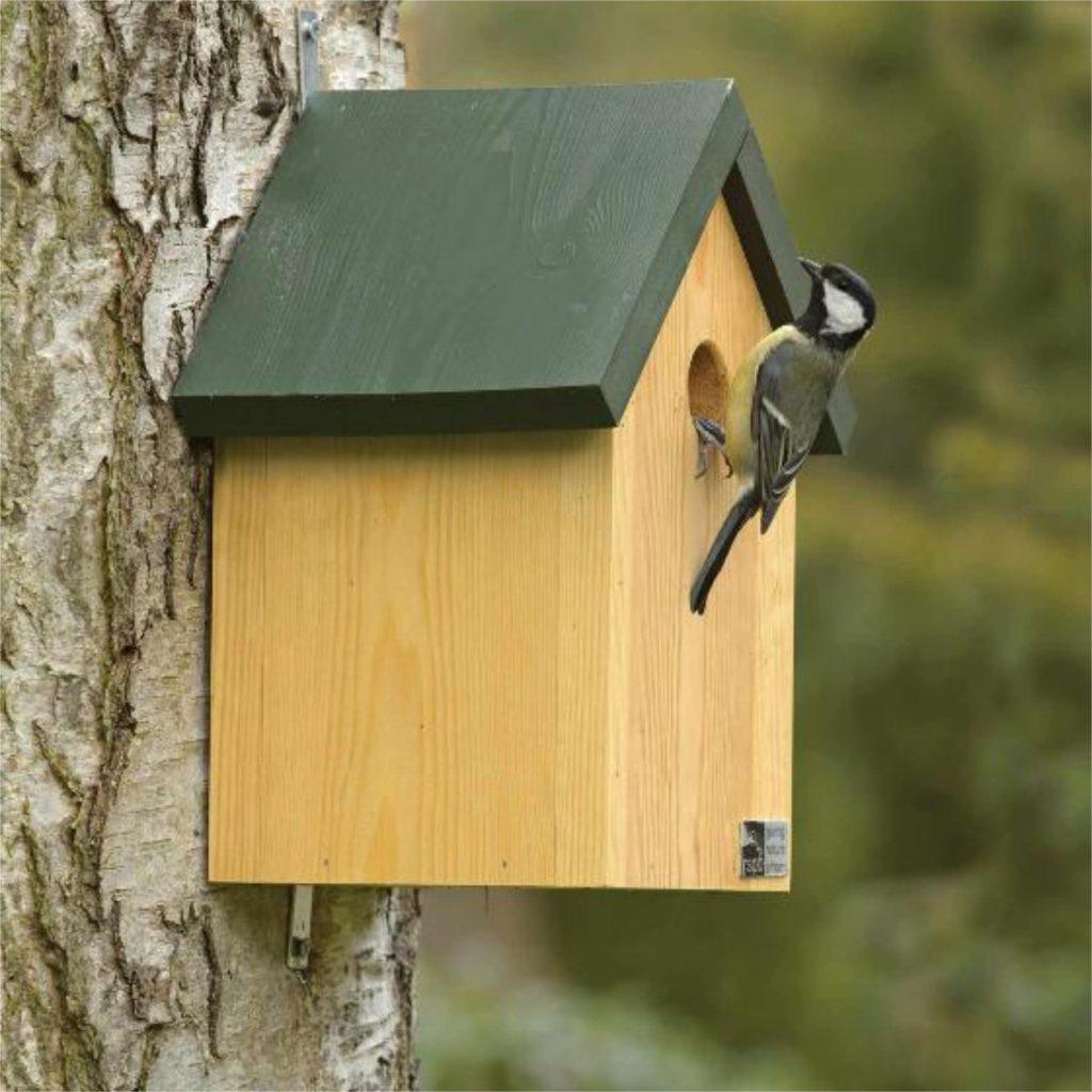 3 ecologische technieken - Nestkast voor mezen - Nestbox for tits
