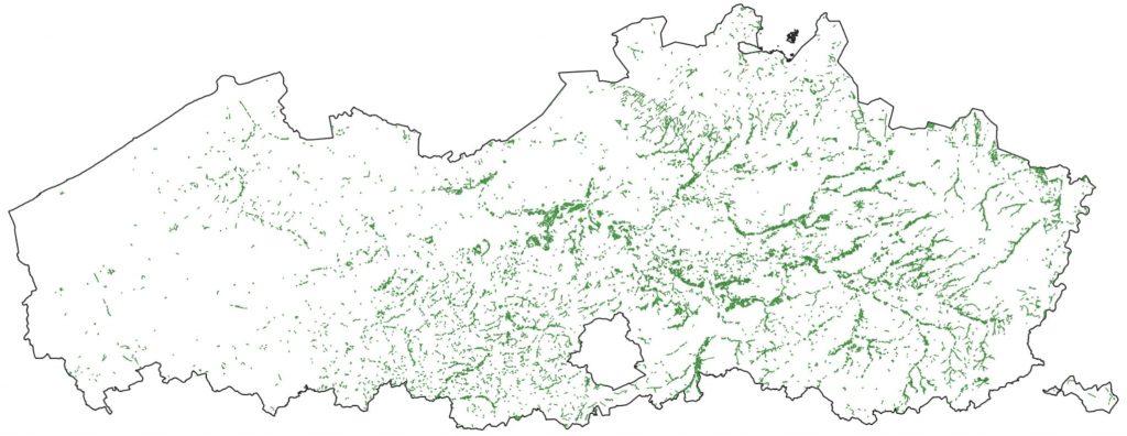 Potentieel leefgebied